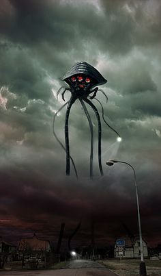 This alien is from war of the worlds and I think that this is a great alien that we could take ideas from for example lasers that shoot people