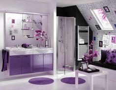 Богатый, сложный и «капризный» фиолетовый цвет в интерьере, оказывается, еще и очень модный. Посмотрите, как красиво он смотрится! - http://www.yapokupayu.ru/blogs/post/fioletovyy-tsvet-v-interiere