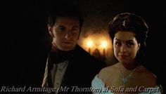 JOHN THORNTON AND MISS HALE. ROMANTIC DINNER, RICHARD ARMITAGE FAN ART