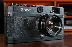 Black Canon P rangefinder + 35mm f/1.8 LTM | View It Large O… | Flickr