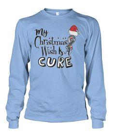 My Christmas Wish Is Cure Diabetes Diabetes Awareness, Cure Diabetes, Prevent Diabetes, High Quality T Shirts, Bass Fishing, The Cure, Long Sleeve Shirts, Graphic Sweatshirt, Sweatshirts
