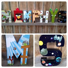 Custom Handmade Angry Birds Themed Bedroom, Child's Playroom, or Themed Party Centerpiece.