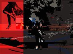 "Pablo Mazza, ""obviouslegs""   Digital Artwork on Canvas   $3,600   Source: http://www.art-mine.com/artistpage/pablo_mazza.aspx   Agora Gallery   Contemporary Fine Art   NYC, NY"