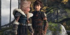 Hiccelsa with Elsa as Astrid.