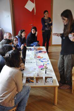 """Seminario """"Per una pedagogia munariana"""" al Nido e Scuola d'Infanzia PICCOLI&grandi, via santa croce 15 Milano, 24-01-2015"""