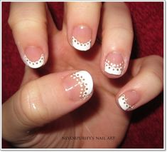french tip nails 6