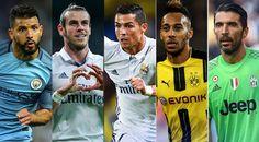 Short list of Ballon d'Or 2016 - http://www.tsmplug.com/football/56355/