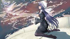 Tags: Anime, Ef - A Fairy Tale Of The Two, Amamiya Yuuko, Minori, Realmbw