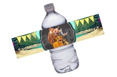 INSTANT DOWNLOAD: Lion King Water Bottle Labels by Denleys on Etsy