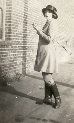 1920s Riding Habit