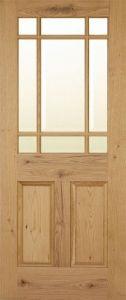 Warwick Rustic Oak Internal Door
