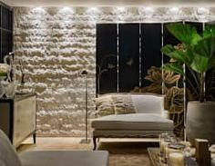 Salon de style de style Rustique par Gláucia Britto