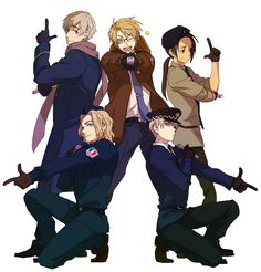 america, aph, china, england, france, hetalia, russia, too sexy, uk, just look at him, look at england, england is so hot