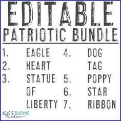 EDITABLE Patriotic Symbols - Great for September 11th learning - 1st, 2nd, 3rd, 4th, 5th, or 6th grade approved - The teacher or a parent volunteer adds the correct problems and solutions to make your OWN puzzles! Pearl Harbor Day, Patriotic Symbols, Parent Volunteers, Constitution Day, Fast Finishers, 5th Grade Classroom, Make Your Own Puzzle, Critical Thinking Skills, Problem And Solution