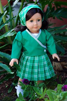 Ruthie in green | Flickr - Photo Sharing!