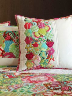 MyWay: New Hexagon pillows