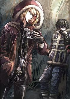 Mello and Matt | Who the heck creates such awesome art!
