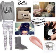 """Lazy Day-Bella"" by bella1325 on Polyvore"