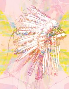 Indian War Bonnet Pink | Urban Road