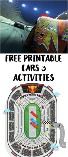 d42007e024c0a Cars 3 is in Theaters Today! {Free Printable Activity Sheets}. Cars Movie  CharactersDisney ...