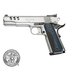 Smith and Wesson .45 Model SW1911. I want this for Christmas!