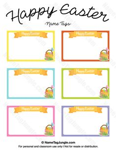 Free printable doodle name tags the template can also be used for free printable happy easter name tags the template can also be used for creating items negle Images