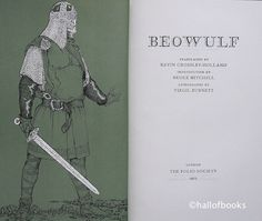 Beowulf, edited by Kevin Crossley-Holland - Folio Society edition
