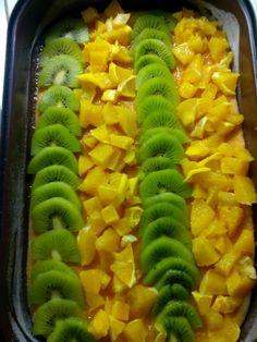 ovocné řezy s pudinkovou želatinou