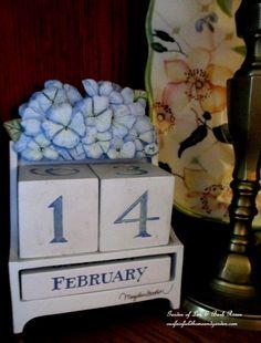Valentine's Day Decorating ~ February 14th http://ourfairfieldhomeandgarden.com/be-my-valentine-valentine-decor/