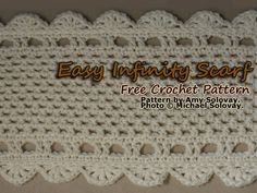 Easy Infinity Scarf Pattern: Project Description