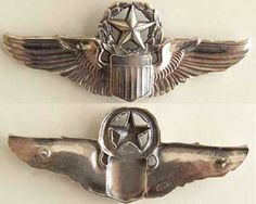 WWII Command Pilot wing design by Josten.