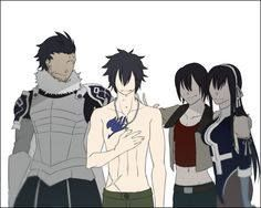 Gray and his Family