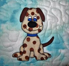 Dog or puppy PDF applique pattern farm animal by MsPDesignsUSA