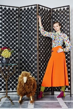 See the complete Duro Olowu Fall 2016 Ready-to-Wear collection.