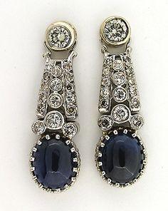 Estate-Art-Deco-Sapphire-Diamond-Platinum-W.G.-Earrings-Ebay-Seller-Petersuchjewelers1137