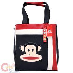 My very favorite bag!!!  Paul Frank Leather Tote Shoulder Bag