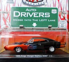 M2 1:64 DIE-CAST 1969 DODGE CHARGER DAYTONA HEMI  FREE SHIPPING!!
