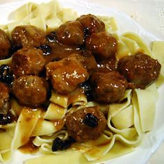 Sauerbraten Meatballs Recipe from Grandmother's Kitchen