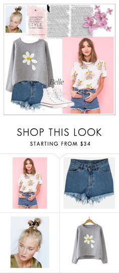 """Untitled #213"" by sariahfranklin ❤ liked on Polyvore featuring Free People and Converse"