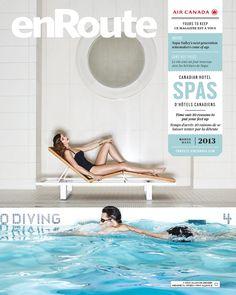 Air Canada enRoute – March / mars 2013  Canadian Hotel Spas / Spas d'hôtels canadiens