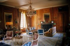 While the famed Loire Valley chateaus to its south have hundreds of rooms and thousands of acres, Drouilly - not too big, not too small - is a much-envied jewel resonant with family history.
