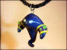 Adorable Voidwalker pendant from Euphyley's Etsy store WarcraftsByEuphyley!!! <3  I have already ordered one!