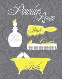 yellow and gray chevron bathroom art printable quotes bathroom decor quote print bathroom wall decor quote poster bathroom sign artworks