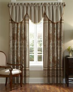 Waterford 'Concerto' Open Stock Valance & Window Panel