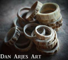 Antler Rings by TheAntlerArtisan on Etsy, $20.00