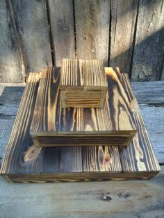 Cupcake Stand for Rustic or Country Western Wedding or Banquet 3 tier holds 44 cupcakes. $99.00, via Etsy.