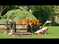 Spot TV : Gamme à batterie STIHL #InfoWebTourisme Spots, Tv, Outdoor, Drum Kit, Lineup, Tourism, Outdoors, Television Set, Outdoor Games