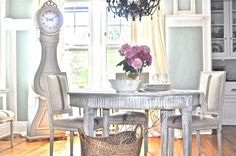 My Swedish inspired dining room