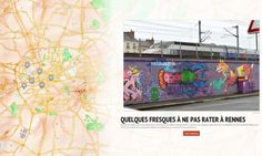 Street-art à Rennes : notre carte interactive.