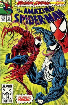 """The Amazing Spider-Man : Featuring the Rage of Venom in """"Demons on Broadway"""" (Maximum Carnage - Marvel Comics): David Michelinie, Mark Bagley: Books Comics Spiderman, Marvel Comics, Hq Marvel, Arte Dc Comics, Marvel Venom, Marvel Comic Books, Marvel Heroes, Comic Books Art, Venom Spiderman"""